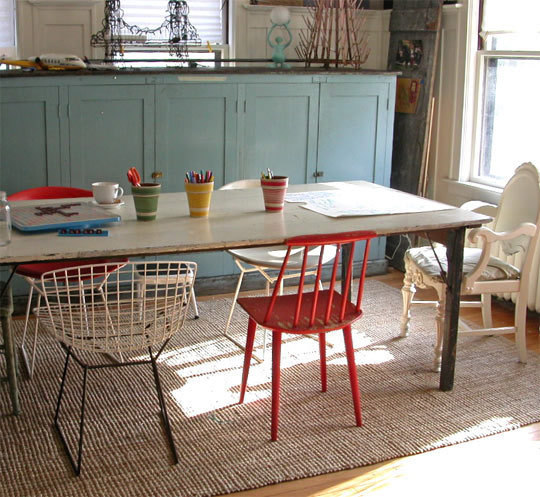 Images From Apartmenttherapy.comu0027s Mismatched Dining Chairs. I Like To Keep  My Chairs Just As Colorful As My Friendsu2026